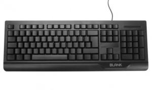 Blank Tastatur