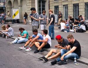 Pokemon Go Stop in Bern