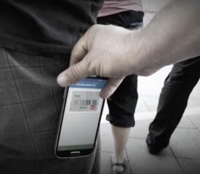 Heimliches Auslesen einer Kreditkarte per NFC