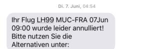 Lufthansa annuliert wegen Streik