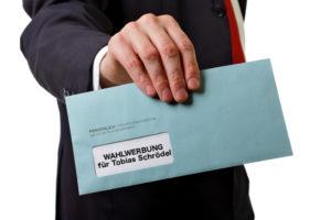Wahlwerbung trotz Datenschutzgesetz