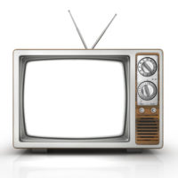 Ein alter TV - noch vor DVB-T2