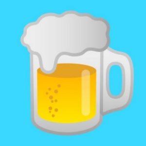 Android 8.0 Emoji Bier