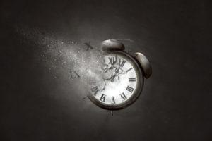 Uhr zeigt Todeszeitpunkt